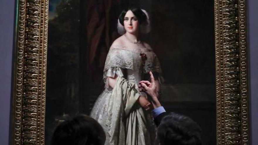 El Prado exhibe  el Madrazo donado por Alicia Koplowitz