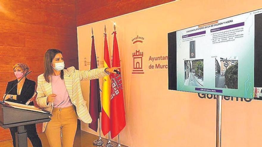 Estas son las 34 calles de Murcia que cambian su velocidad máxima con el nuevo Reglamento