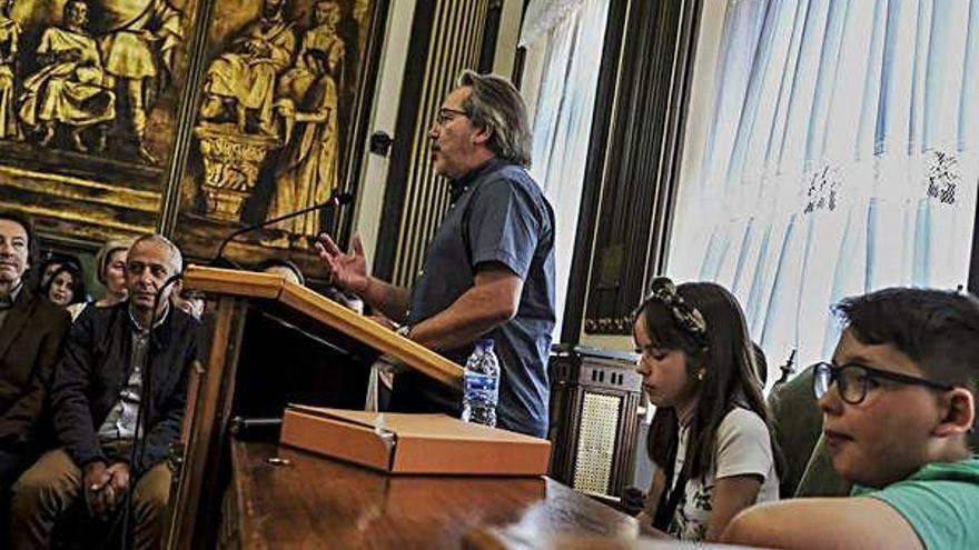 Presentación del estudio en el Ayuntamiento.