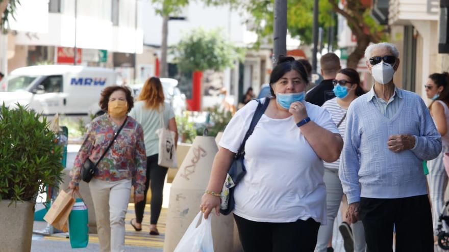 81 denuncias por incumplir las medidas sanitarias en el Eixample de Ibiza