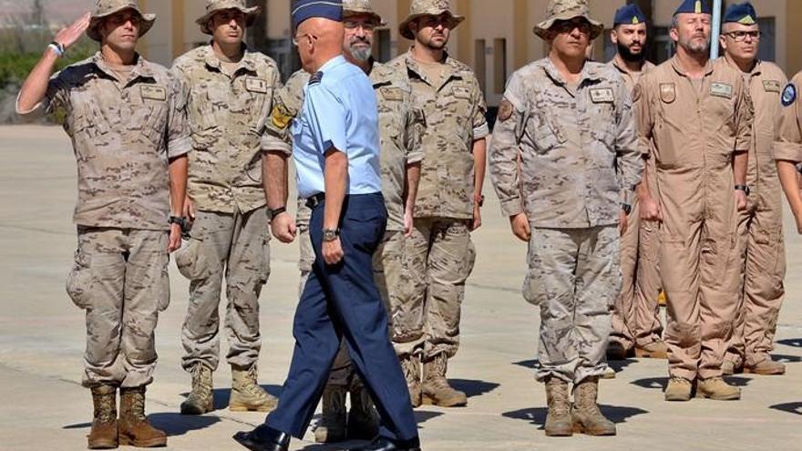 Acto de despedida del personal del 11º contingente del destacamento Grappa