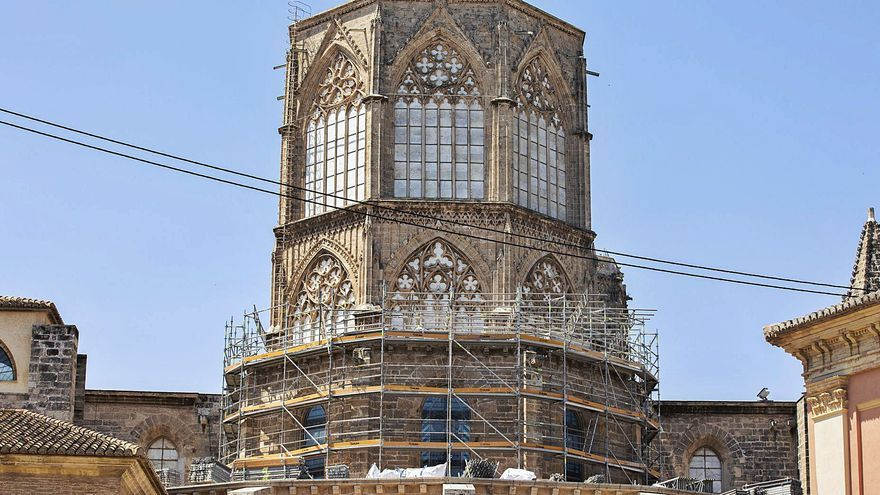 """El estudio y restauración de los """"ángeles músicos"""" de la Catedral durará 6 meses"""