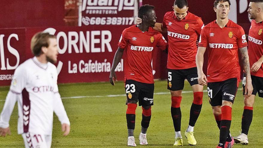 El Mallorca se especializa en frenar a sus rivales