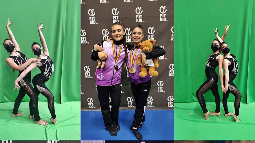 Dos bailarinas malagueñas, en el Mundial de FitKid