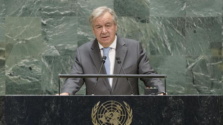 Guterres aspirará a un segundo mandato al frente de la ONU