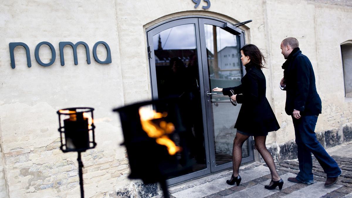 El restaurante Noma, en Copenhague.