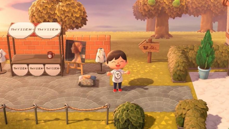 El Thyssen lleva su arte al mundo virtual a través de 'Animal Crossing'