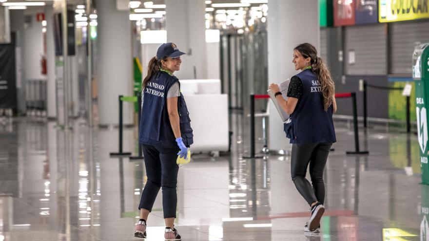 Devuelven a Alemania a dos pasajeros que llegaron a Mallorca sin un motivo justificado