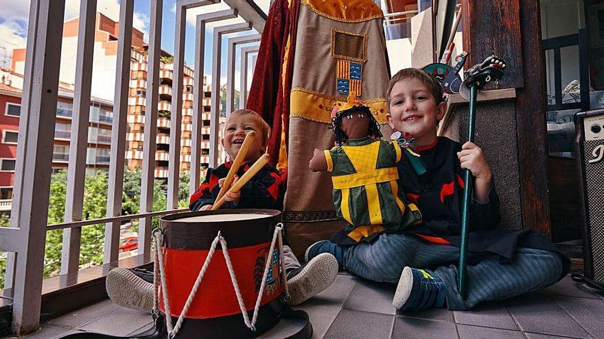 La Patum Infantil omple les xarxes de petits patumaires i recapta més de 2.000 euros