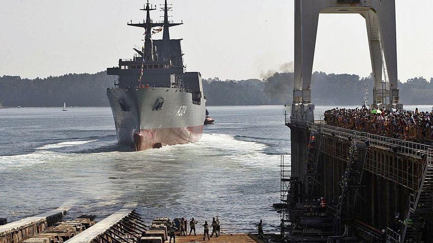 Navantia escala hasta el puesto 76 de la lista de empresas más grandes de defensa