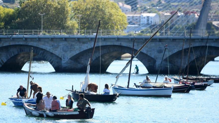Pontevedra revivió su esplendor medieval