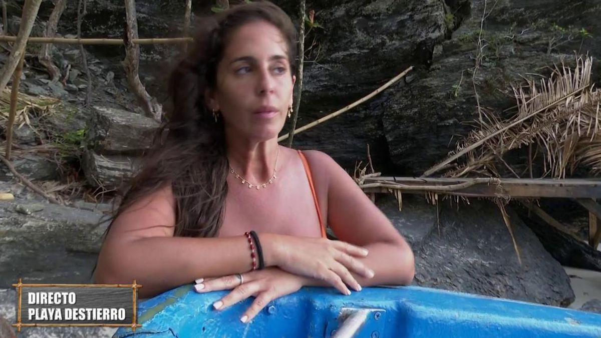 Anabel Pantoja recibe una bronca de Jorge Javier Vázquez