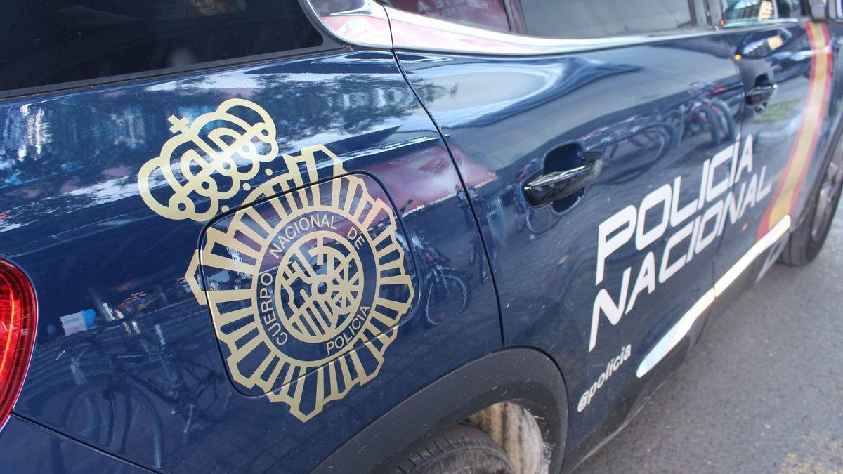 Imagen de archivo de un coche de Policía Nacional. /  L. O.