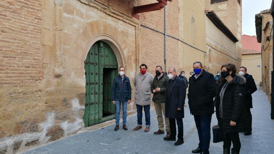Finalizan las obras de renovación de la calle Las Monjas de Toro