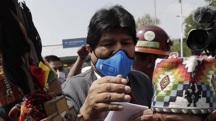 La tornada triomfal d'Evo Morales a Bolívia