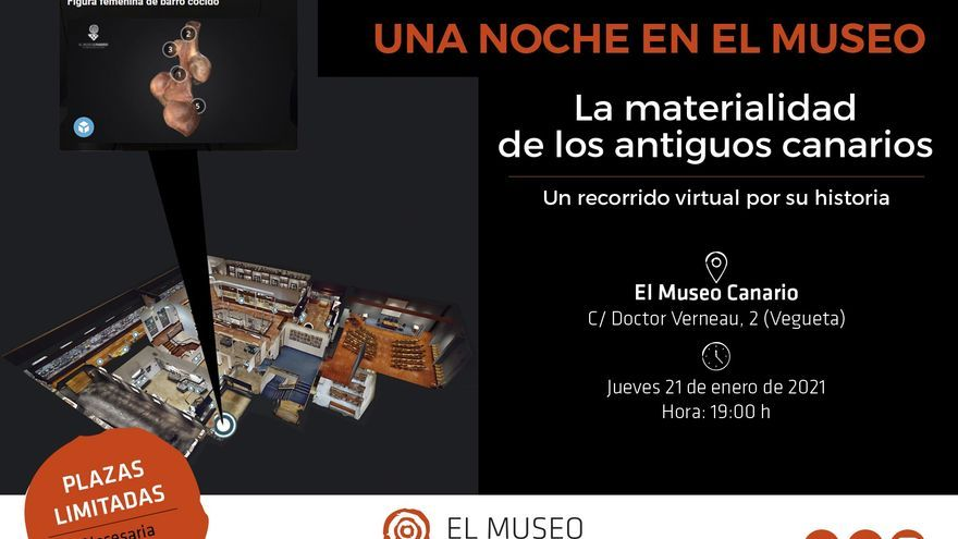 'La materialidad de los antiguos canarios', este jueves para todo el Archipiélago