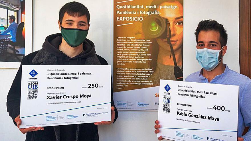 Pablo González gana el concurso de fotografía de la UIB