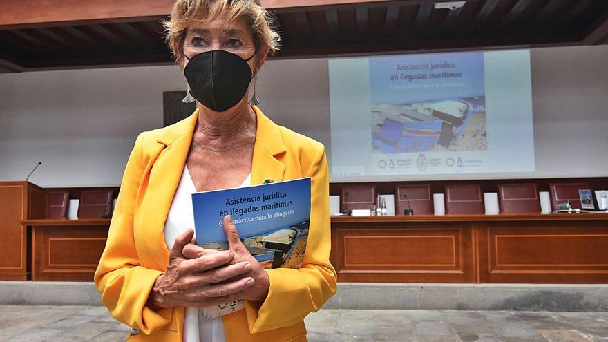 """Victoria Ortega: """"Hay personas vulnerables sin acceso a la justicia gratuita"""""""