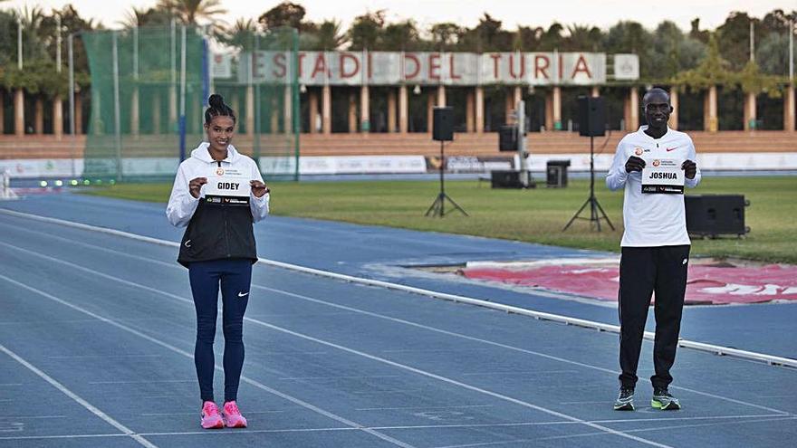 Chepteguei y Gidey, a por el récord mundial hoy en València