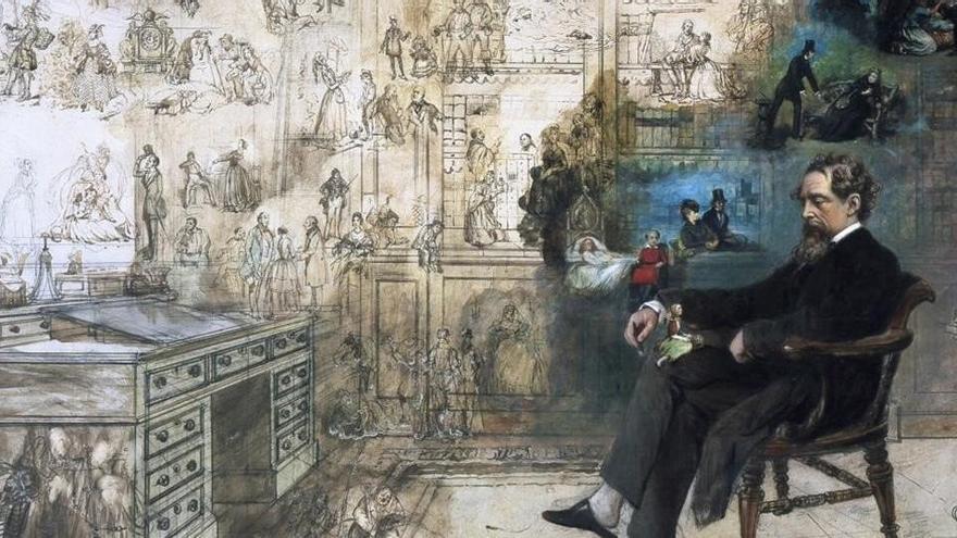 Dickens, el primer 'superstar' de las letras británicas