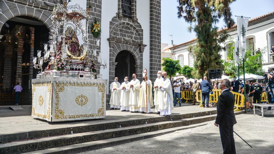 Torres preside los actos de la festividad del Pino en un año de transición hacia la normalidad