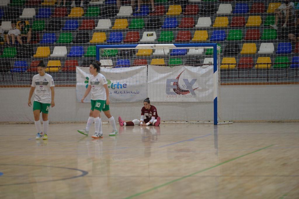 El Joventut d'Elx pierde con el Marín su primera opción de subir a la élite (5-7)