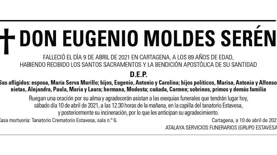 D. Eugenio Moldes Serén