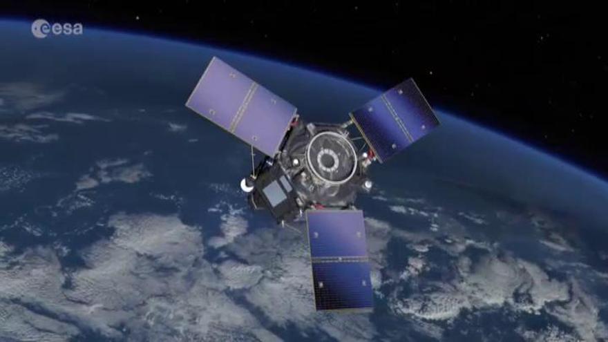 Fracasa por un fallo humano el lanzamiento al espacio del satélite español 'Ingenio'