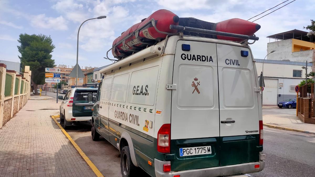 La Guardia Civil incorporará esta tarde a buzos para buscar el cuerpo de Wafaa en pozos