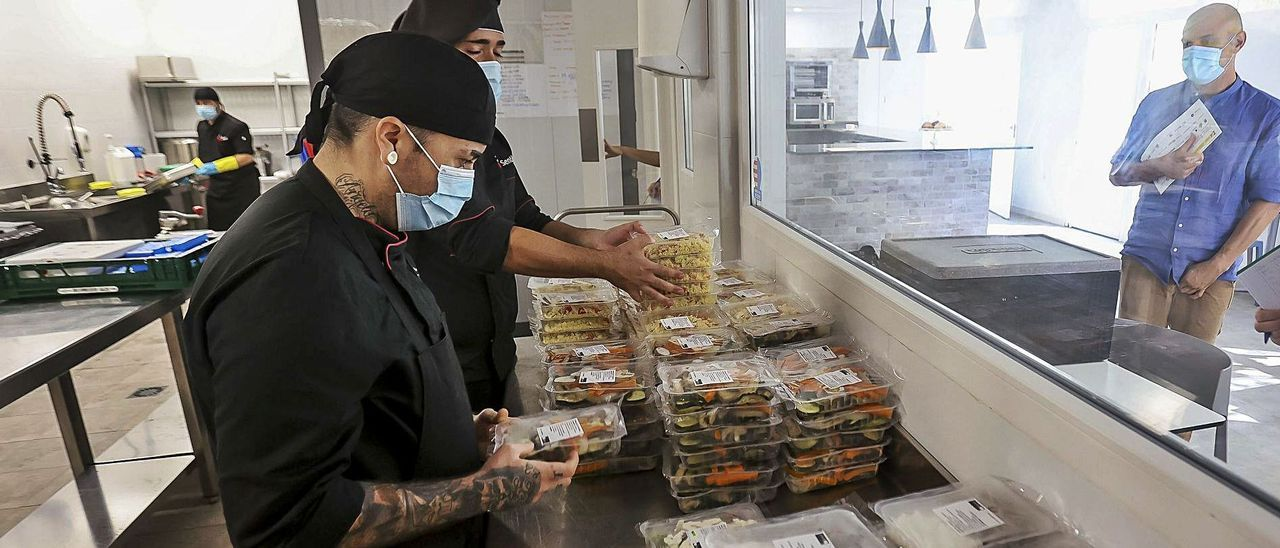 El nuevo centro de Adiem en el barrio de Babel cuenta con un servicio de catering y cafetería abierta al público.  