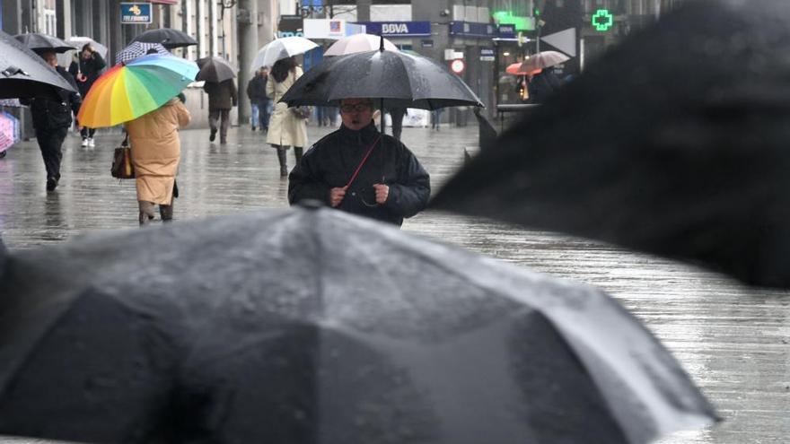 Lluvias generalizadas y temperaturas en descenso
