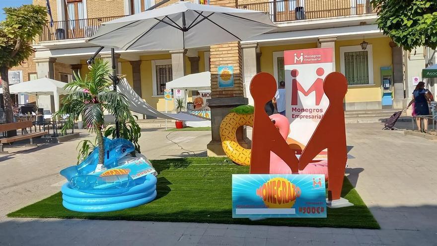 Monegros Empresarial celebra el mercadillo 'Fin de temporada' en Sariñena