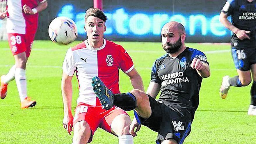 Valery atrapa els 50 partits oficials amb la samarreta del Girona
