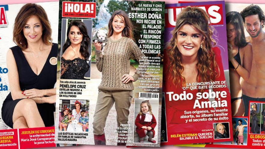 Recortes de sueldo para Belén Esteban y un bebé para Adriana Abenia