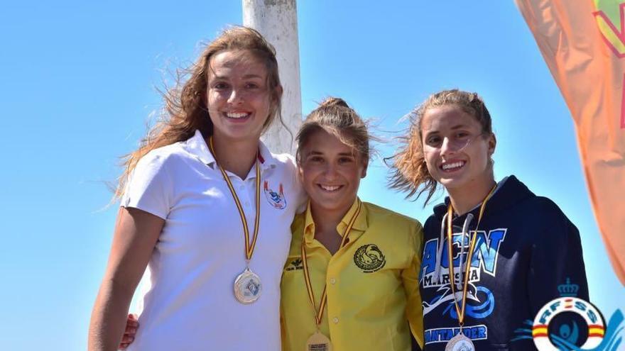 Lucía Gómez se proclama campeona de España júnior en Arteixo