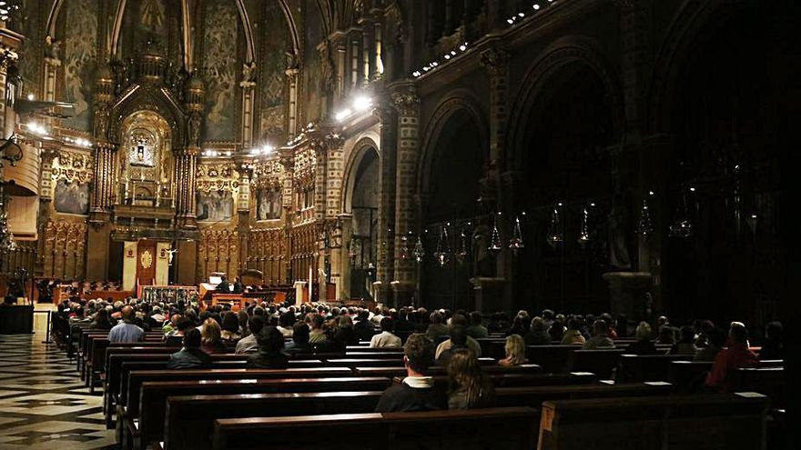 Montserrat repetirà format en la programació dels concerts d'orgue