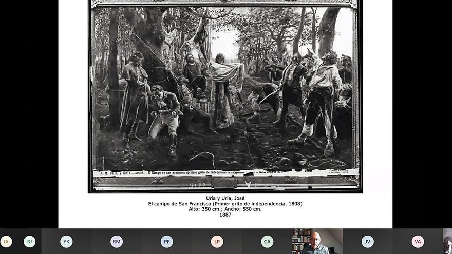"""Barón: """"Ente'l 34 y el 36 desaniciáronse 43 obres del 'Museo del Prado' n'Asturies"""""""