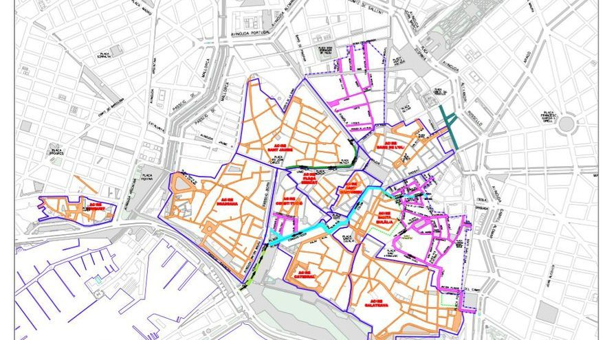 Palma debattiert über Verkehrsberuhigung im Zentrum