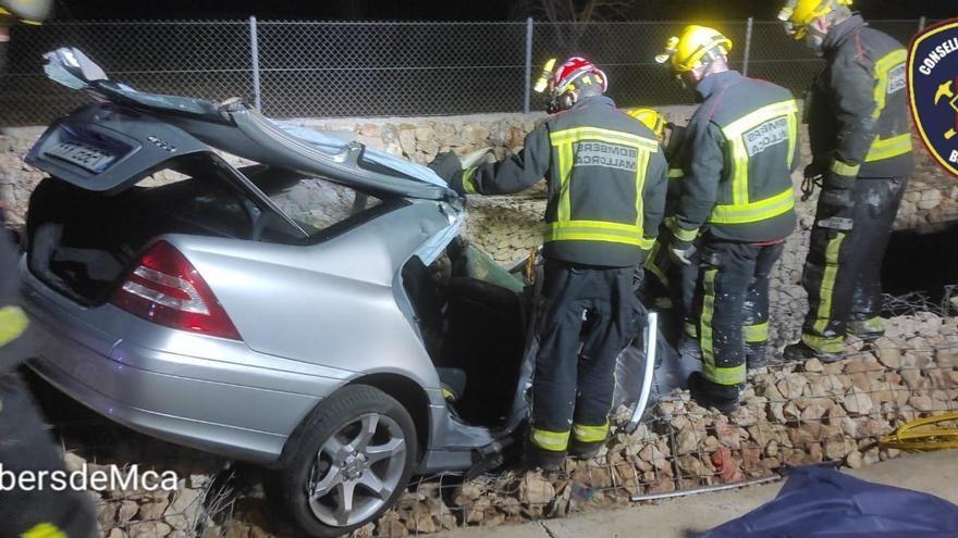 Un hombre de 81 años fallece en un accidente de tráfico en Santa Maria