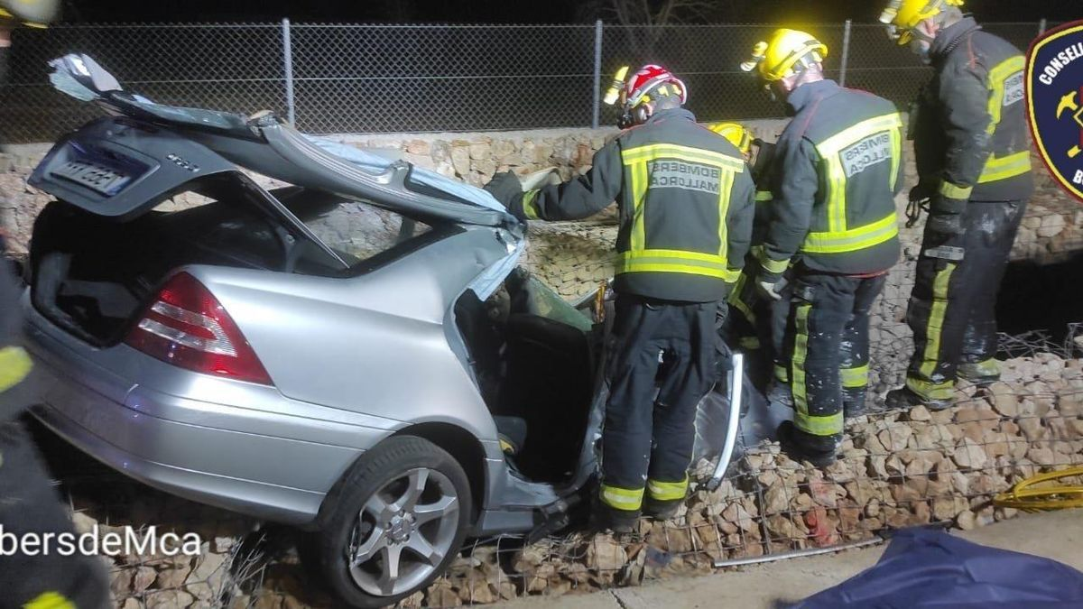 Muere un hombre de 81 años en un accidente de tráfico en Santa Maria