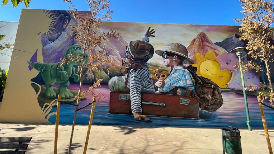Campanillas se abre al arte de los grafiteros y acoge ya 13 murales