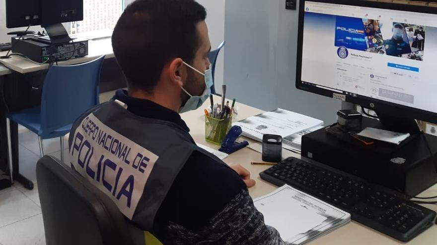 Detenidos dos estafadores en Alicante que engañaban a sus víctimas haciéndose pasar por técnicos de Microsoft
