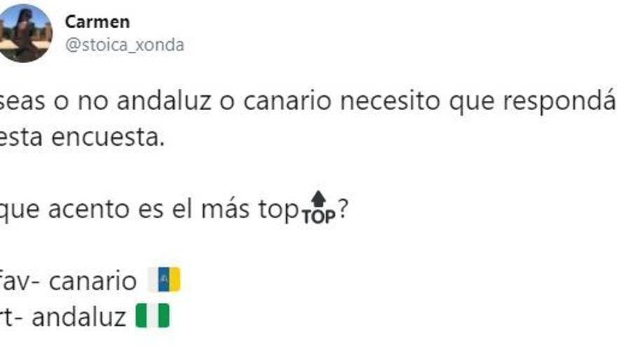 Canarias y Andalucía se enfrentan en una curiosa batalla en Twitter