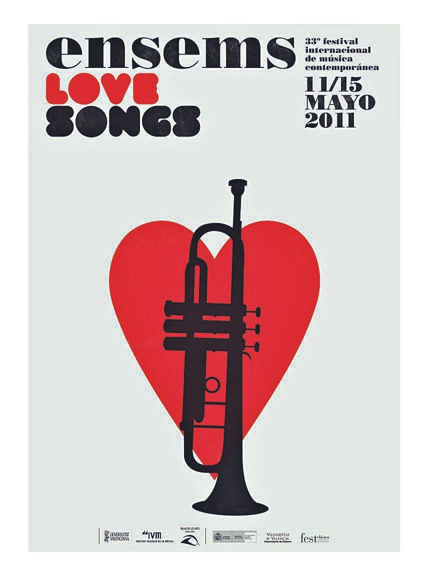 Música, amor  y mucho diseño