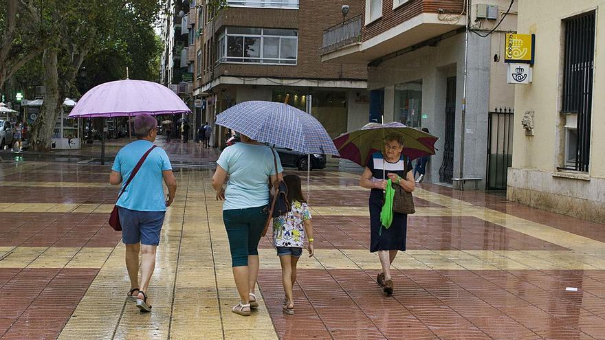 La Costera y la Vall registran en agosto superávits de lluvia de más del 200 %