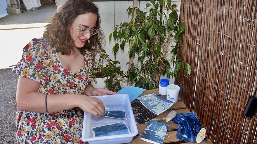 Cianotipia, la magia del revelado azul