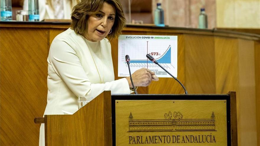 Díaz pide a Moreno que ponga los pies en el suelo y le acusa de ir a remolque