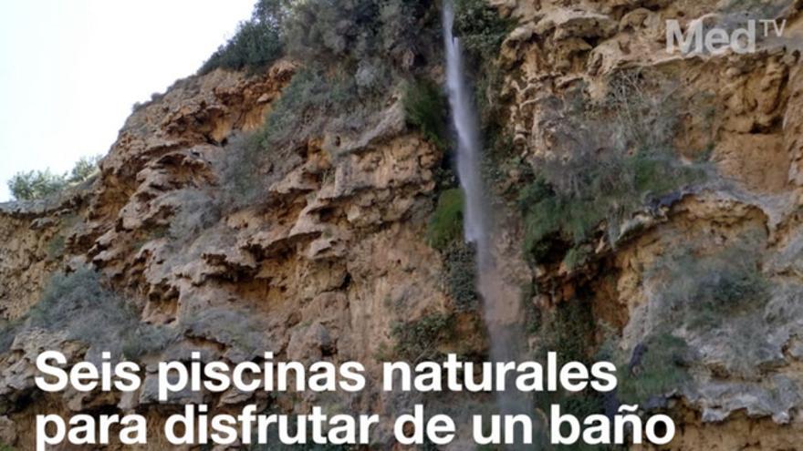 Seis piscinas naturales para darse el último chapuzón del verano en Castellón