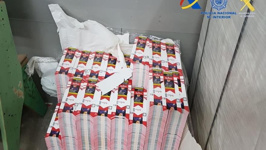 El contrabando de tabaco desmantelado en Ourense asciende a 21 millones de euros