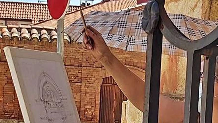 Benavente acoge la XXII Edición del Certamen de Pintura Rápida